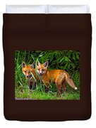 Babes In The Woods Duvet Cover by Steve Harrington