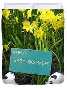 Baby Boomers Duvet Cover by Ausra Paulauskaite