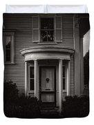 Back Home Bar Harbor Maine Duvet Cover by Edward Fielding