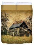 Backwoods Cabin Duvet Cover by Steve McKinzie