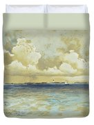 Bahama Island Light Duvet Cover by Thomas Moran