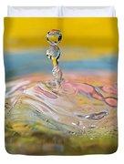 Balancing Act Duvet Cover by Lisa Knechtel