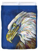 Bald Eagle Duvet Cover by Lovejoy Creations