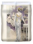 Ball Gown Duvet Cover by French School