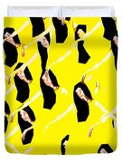 Ballet Dancers Duvet Cover by Patrick J Murphy