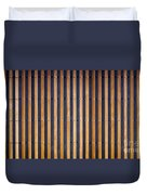 Bamboo Mat Texture Duvet Cover by Tim Hester