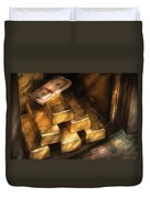 Banker - My Precious  Duvet Cover by Mike Savad