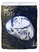 Barack Obama Pluto Duvet Cover by Augusta Stylianou