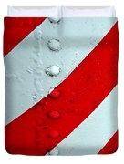 Barber Pole Duvet Cover by Chris Berry