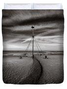 Barkby Beach 2 Duvet Cover by Dave Bowman