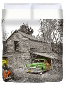 Barn Finds Classic Cars Duvet Cover by Jack Pumphrey