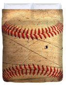 Baseball Duvet Cover by M and L Creations