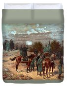 Battle Of Chattanooga Duvet Cover by American School