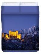 Bavarian Castle Duvet Cover by Brian Jannsen