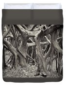 Baynan Roots Duvet Cover by Rudy Umans