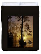 Bayou Sunrise Duvet Cover by Lianne Schneider