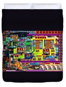 be a good friend to those who fear Hashem 15 Duvet Cover by David Baruch Wolk
