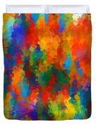 Be Bold Duvet Cover by Lourry Legarde