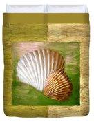 Beach Memoirs Duvet Cover by Lourry Legarde