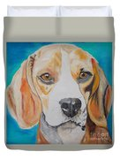 Beagle Duvet Cover by PainterArtist FIN