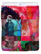 Bean Town Duvet Cover by Jimi Bush