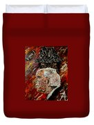 Bear Bryant And Mal Moore  Duvet Cover by Mark Moore