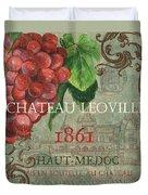 Beaujolais Nouveau 1 Duvet Cover by Debbie DeWitt