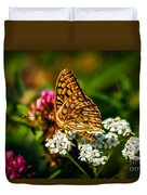 Beautiful Butterfly Duvet Cover by Robert Bales