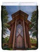 Beautiful Chapel Duvet Cover by Joan Carroll