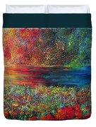 BEAUTIFUL DAY Duvet Cover by TERESA WEGRZYN