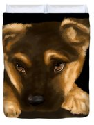 Beautiful puppy Duvet Cover by Veronica Minozzi