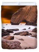 Beauty Essence Duvet Cover by Jorge Maia