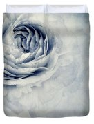 Beauty In Blue Duvet Cover by Priska Wettstein
