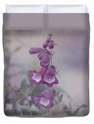 Beauty In Purple Duvet Cover by Kim Hojnacki