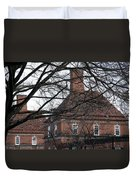 Behind Trees -- The British Ambassador's Residence Duvet Cover by Cora Wandel