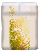 Beneath A Tree  14 5199   Diptych  Set 1 Of 2 Duvet Cover by Ulrich Schade