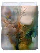 Beneath Duvet Cover by Carol Cavalaris
