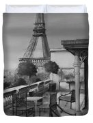 Beneath the Tower  Number 5 Duvet Cover by Diane Strain
