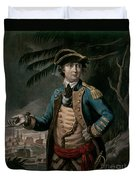 Benedict Arnold Duvet Cover by English School