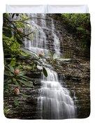 Benton Falls Duvet Cover by Debra and Dave Vanderlaan
