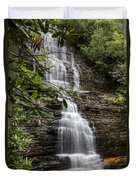 Benton Falls Duvet Cover by Debra and Dave Vanderlaan