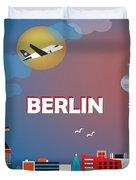 Berlin Duvet Cover by Karen Young