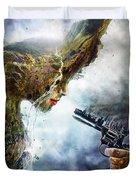 Betrayal Duvet Cover by Mario Sanchez Nevado
