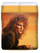 Bette Midler Duvet Cover by Paul Meijering