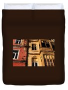 Beyoglu Old Houses 01 Duvet Cover by Rick Piper Photography