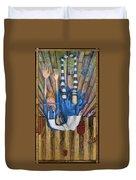 Big Alice Little Door Duvet Cover by Kelly Jade King