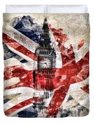 Big Ben Duvet Cover by Mo T