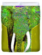 Big Elephant 20130201p60 Duvet Cover by Wingsdomain Art and Photography