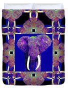 Big Elephant Abstract Window 20130201m118 Duvet Cover by Wingsdomain Art and Photography