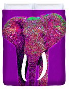 Big Elephant Three 20130201v2 Duvet Cover by Wingsdomain Art and Photography
